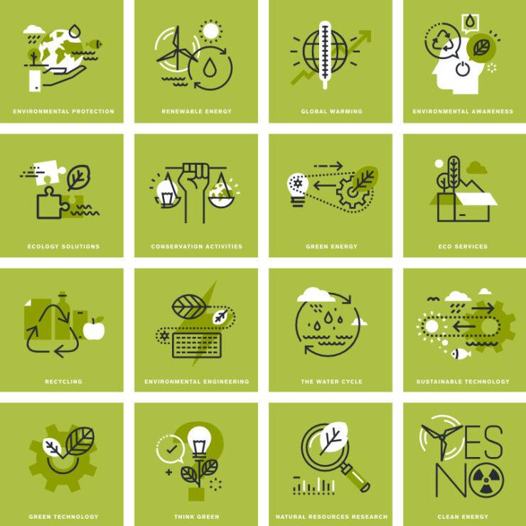 brief explanation of green economics sectors sq