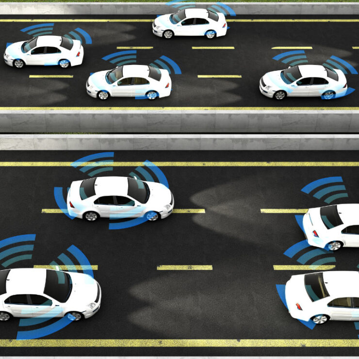 connected vehicles technology in smart transportation solutions sq