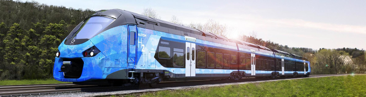 hydrogen powered trains began to drive in germany land