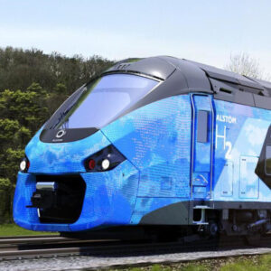 hydrogen powered trains began to drive in germany sq