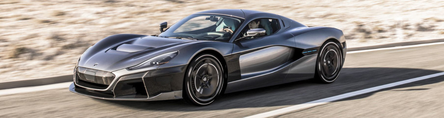 rimac the fastest electric car in the world long